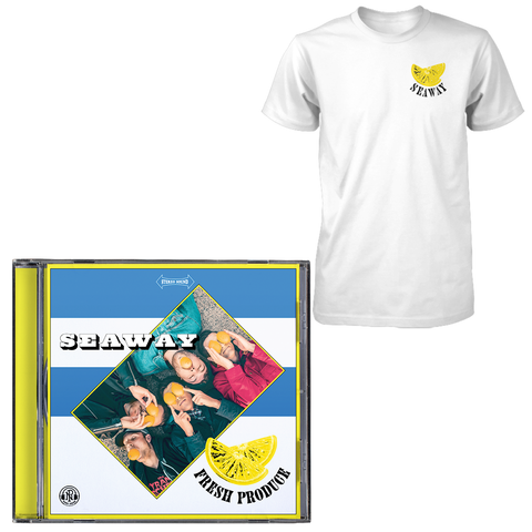 Seaway 'Fresh Produce' CD + T-Shirt