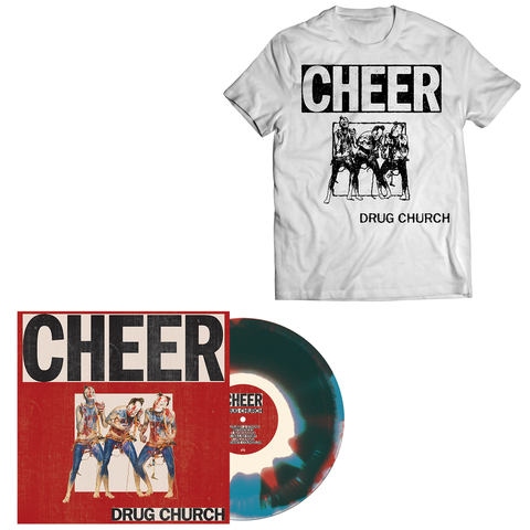 Drug Church 'Cheer' LP + T-Shirt bundle