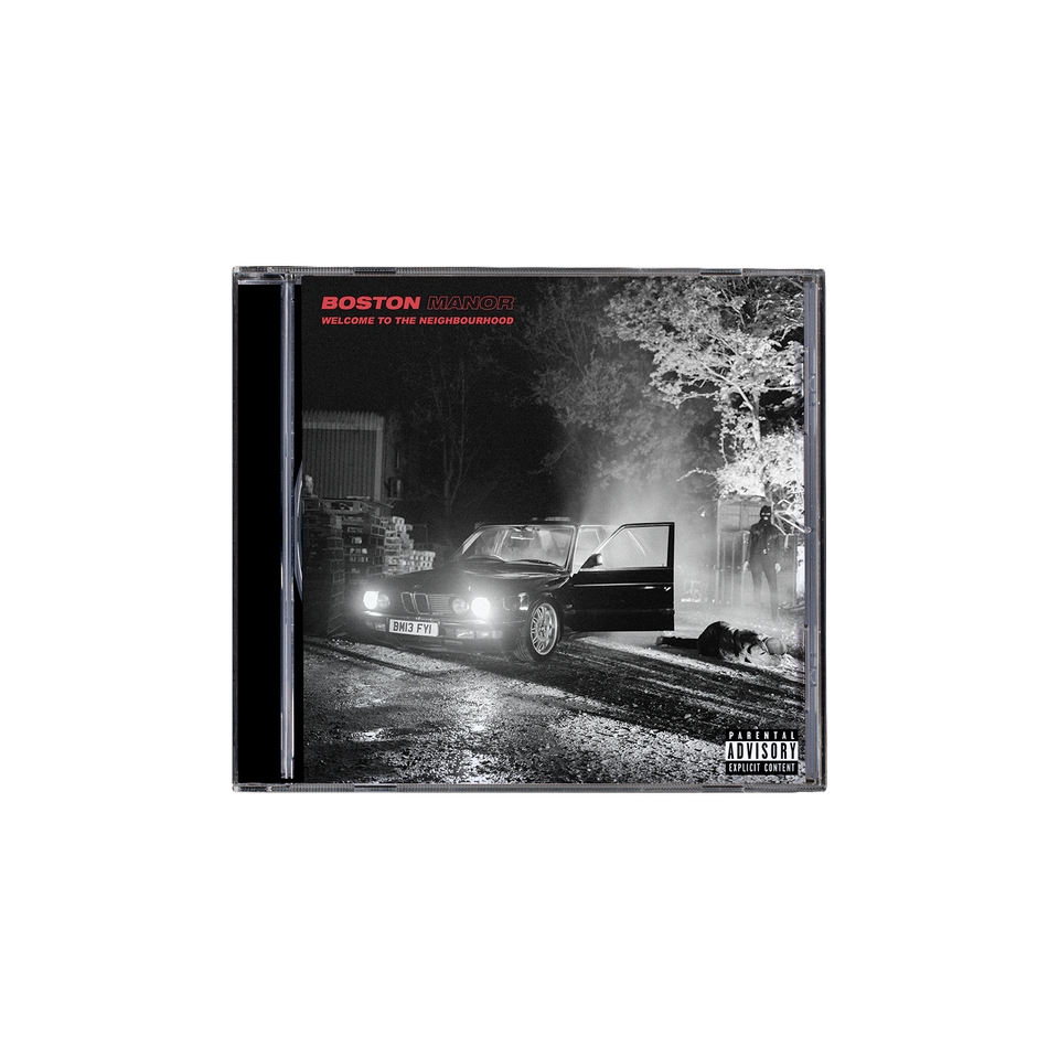Boston Manor 'Welcome To The Neighbourhood' CD