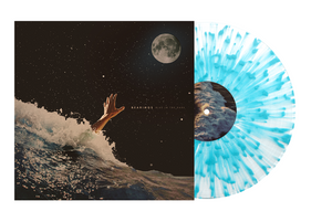 Bearings 'Blue In The Dark' LP (Clear w/ Heavy Sea Blue Splatter)