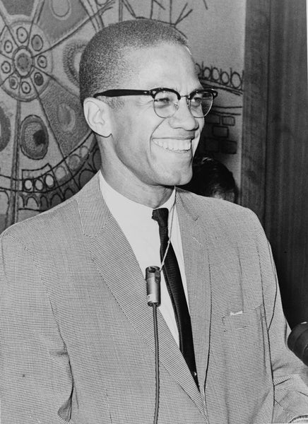 Malcolm X by Ed Ford