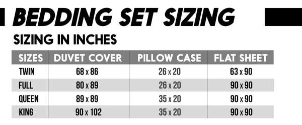 bedding-set-sizing