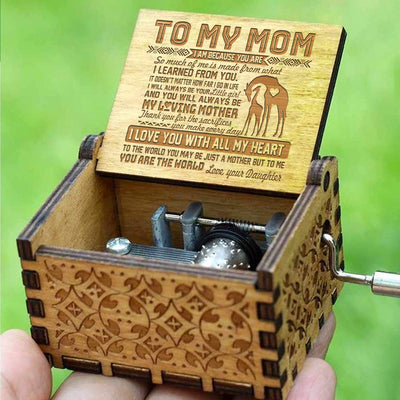 Daughter to Mom - You Are The World To Me - Music Box