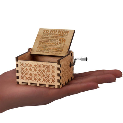 Son to Mom - You Are The World To Me - Music Box