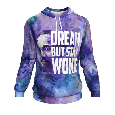 Dream But Stay Woke All-Over Hoodie