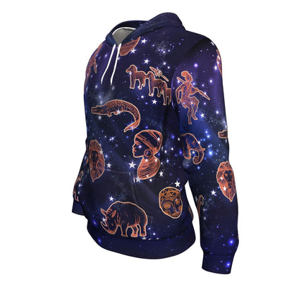 Astronomy Africa All-over Hoodie