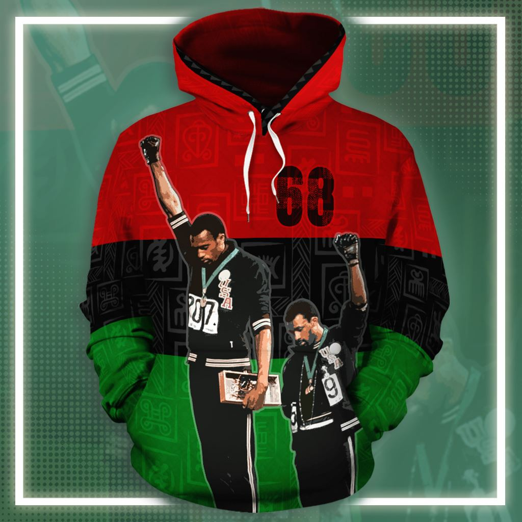 68 Olympics All-over Hoodie Hoodie Tianci