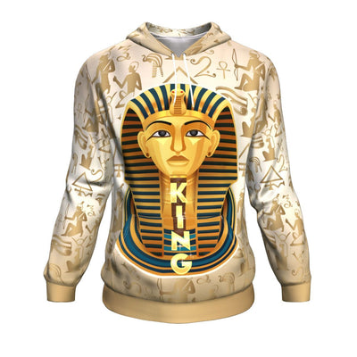 King Egypt All-Over Hoodie