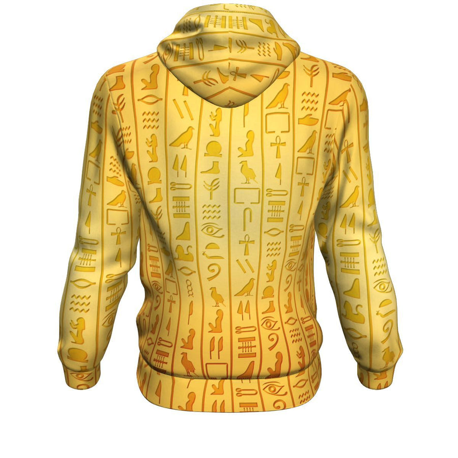 Royalty (Lion Pharaoh)  Fleece All-over Hoodie