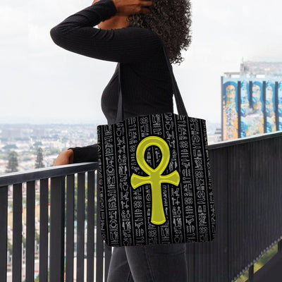 Anhk Dark Tote Bag