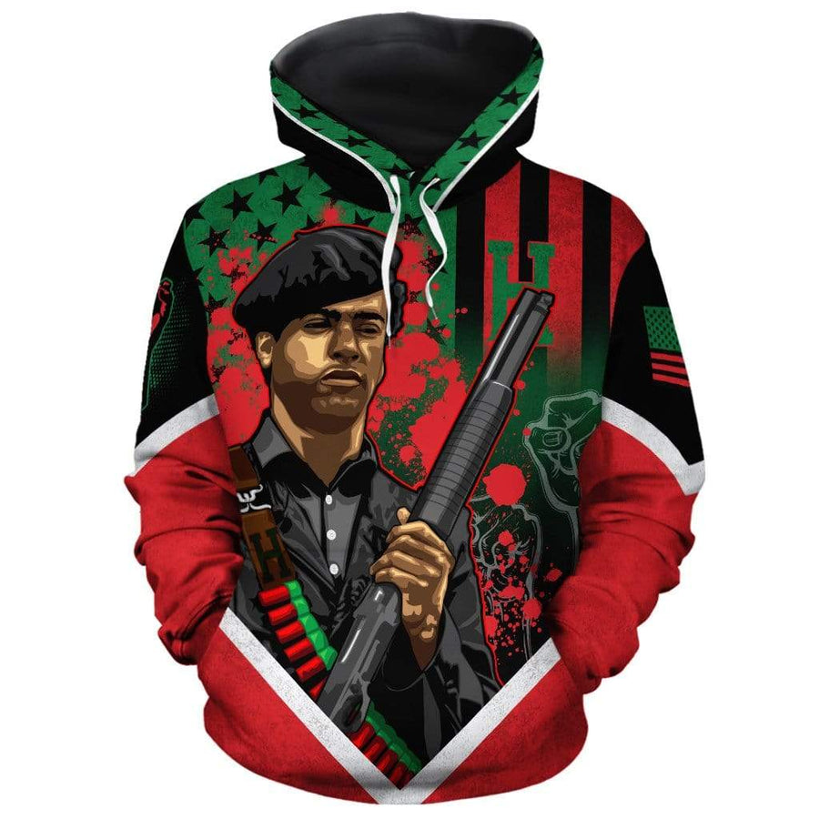 African American Flag Huey All-over Hoodie