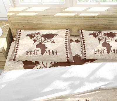 African Roots Bedding Set