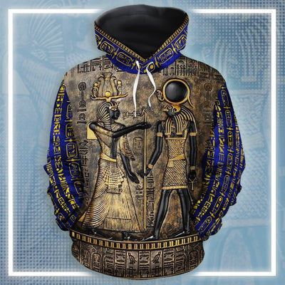 Ancient Egypt God All-over Hoodie