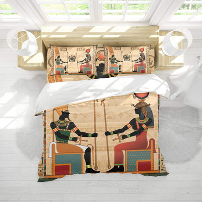 Ancient Egyptian Bedding Set