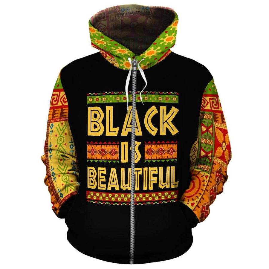 BLACK IS BEAUTIFUL All-over Hoodie