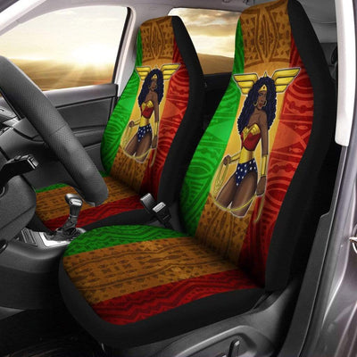 Black WW Car Seat Covers