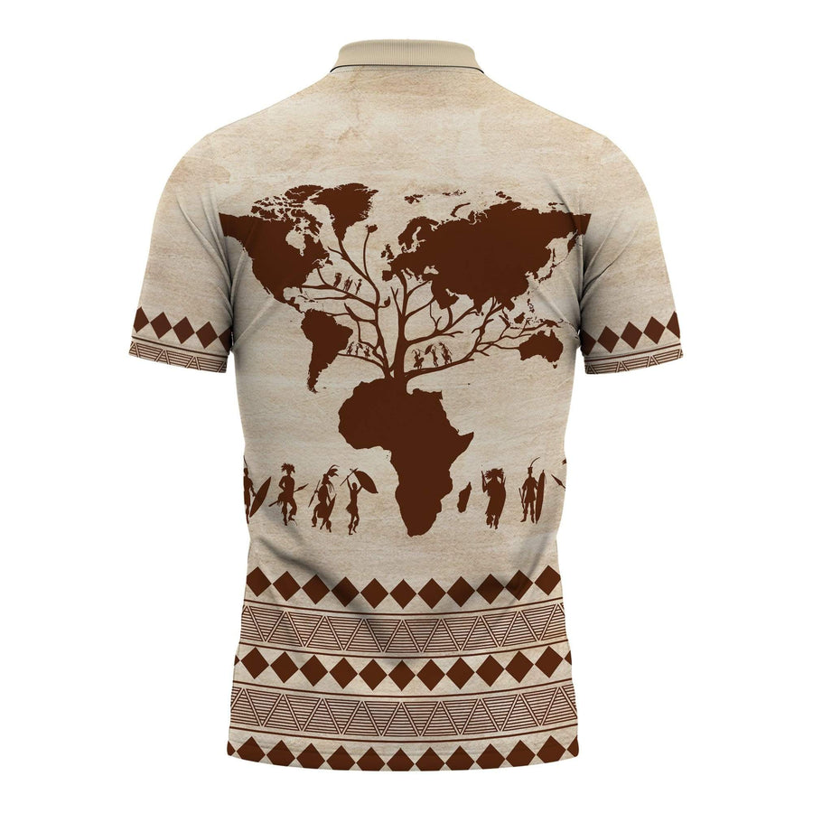 Root Africa Polo Shirt