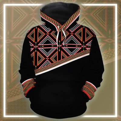 Bamenda African Print All-over Hoodie