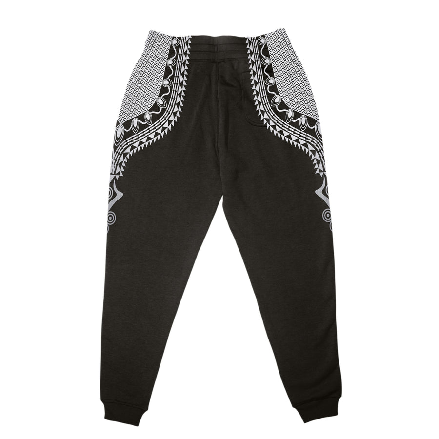 Dashiki Color Black Joggers