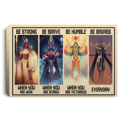 Egyptian Gods Wall Canvas