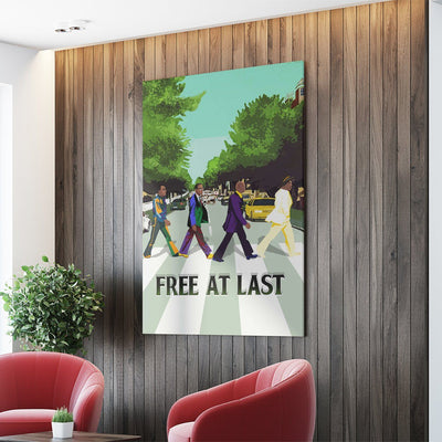 Free At Last 2 Wall Canvas