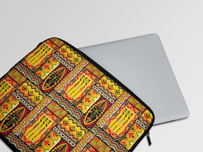 Hippie African Laptop Sleeve