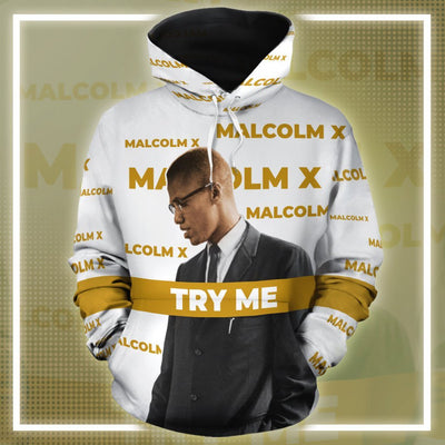 Malcolm X 2 All-over Hoodie