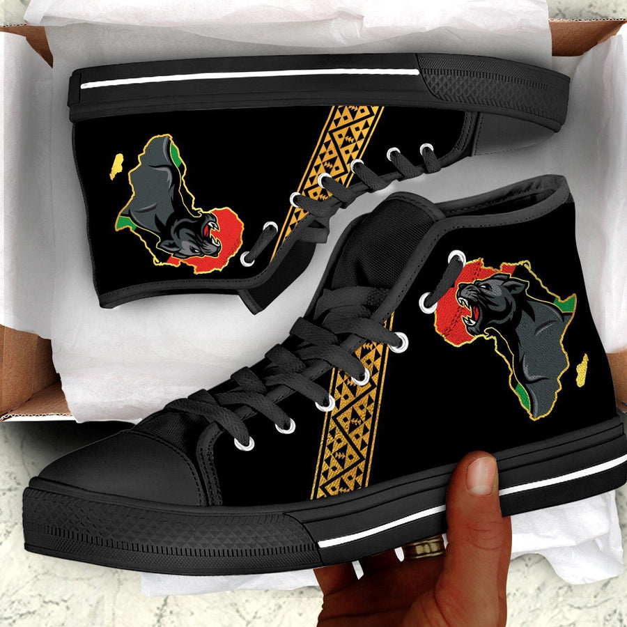 Panther Africa Canvas Shoes