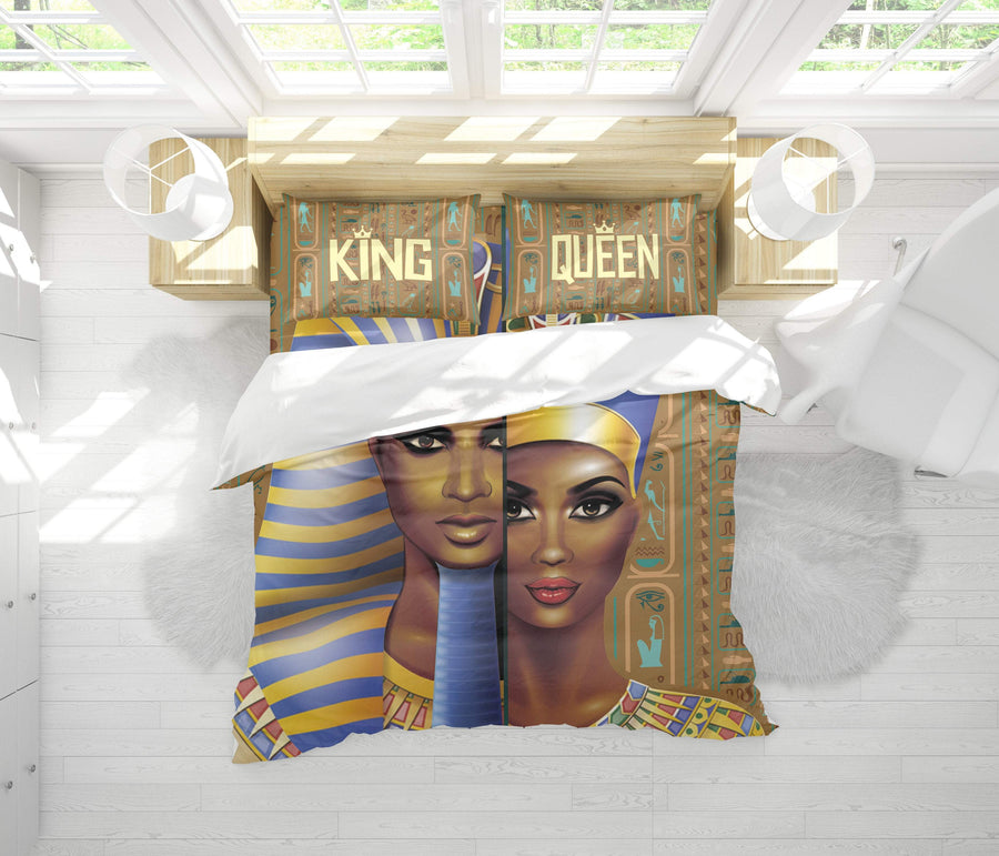 Queen-Pharaoh Bedding Set - FREE SHIPPING