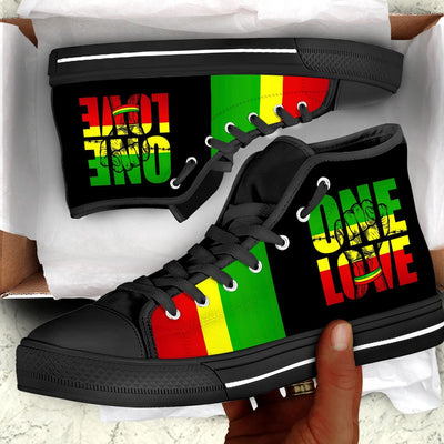 Reggae OneLove Canvas Shoes