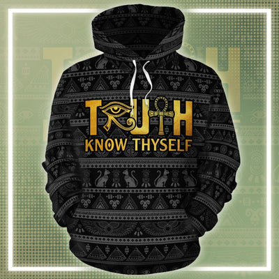 Truth Know Thyself All-over Hoodie 2