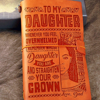 Dad to Daughter - Remember Whose Daughter You Are - Vintage Journal