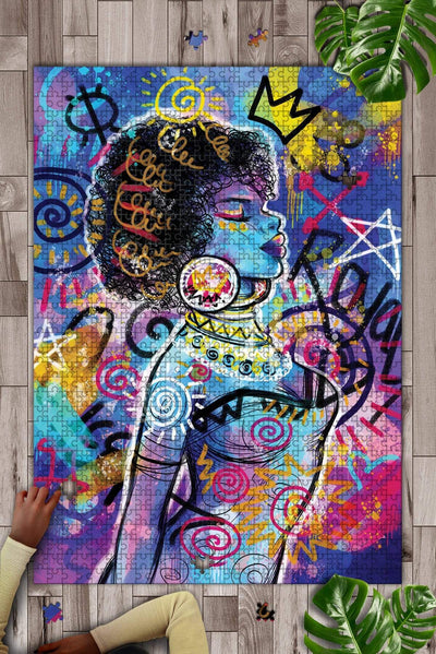 Woman Art Jigsaw Puzzle