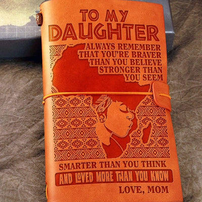 Mom to Daughter - Loved More Than You Know - Vintage Journal