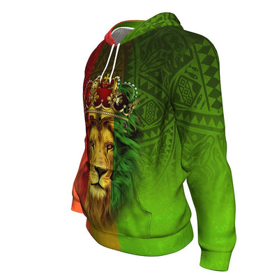 Lion Crown All-Over Hoodie
