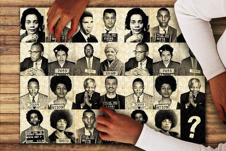 Civil Rights Leaders Jigsaw Puzzle