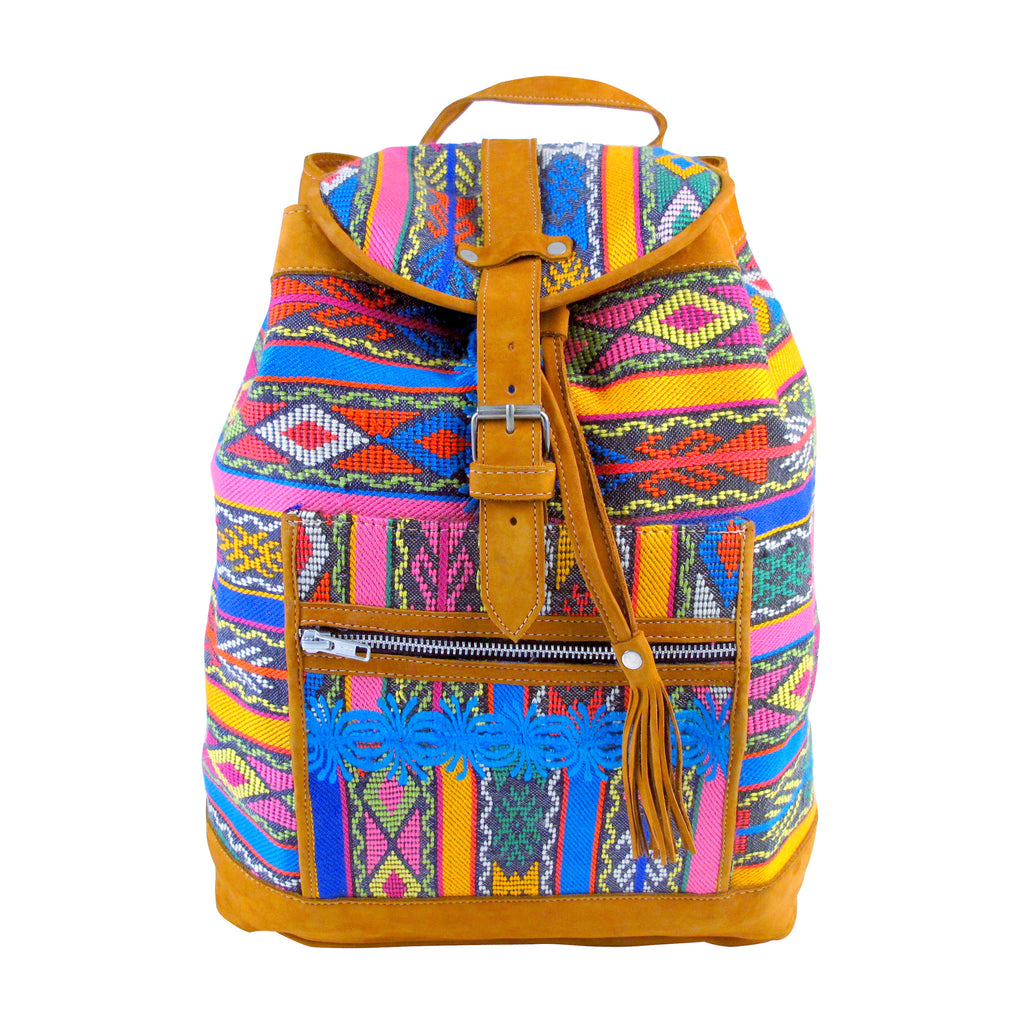 Tzunil Corte Backpack Tribal Dance