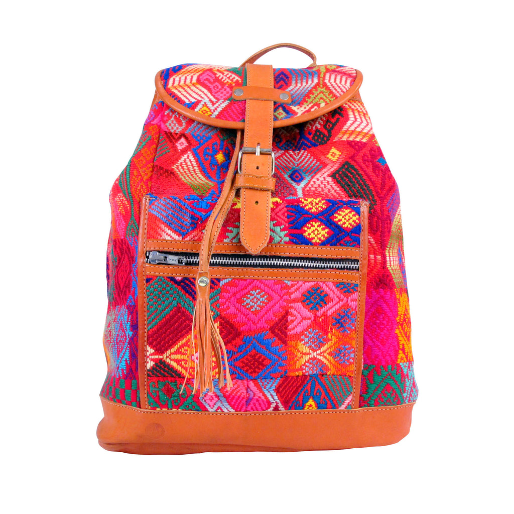 Concepcion Backpack Ruby Brocade