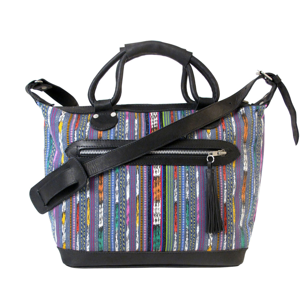 Corte Maletta Charcoal + Multi Stripe