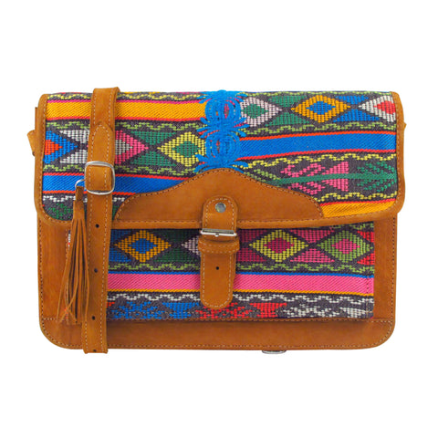 Tzunil Corte Satchel Tribal Dance