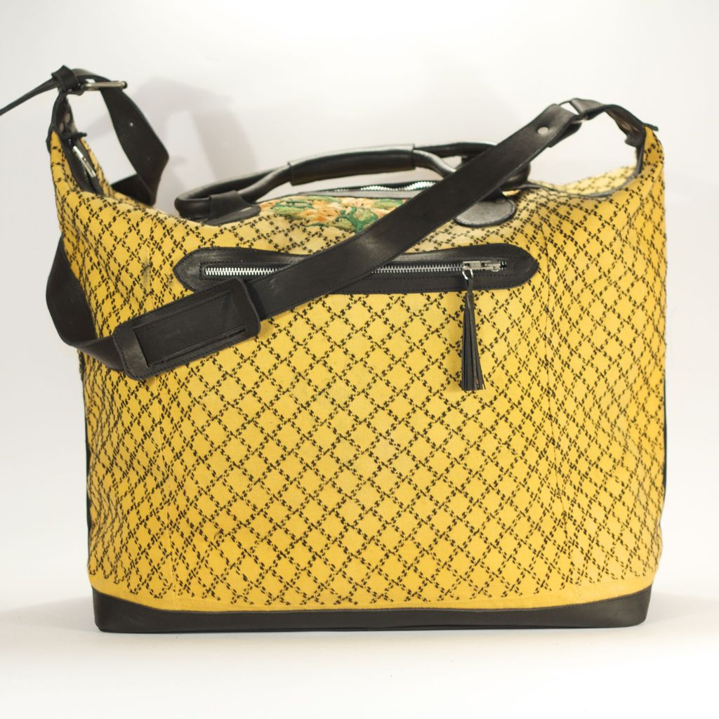 Coban Getaway Maletta Yellow + Black