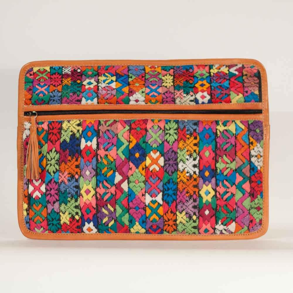 Flowered Guipil Laptop Love Multi