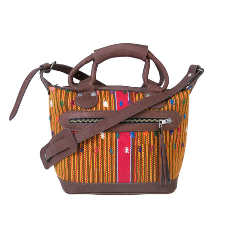Chimaltenango Mini Maletta Retro Stripe