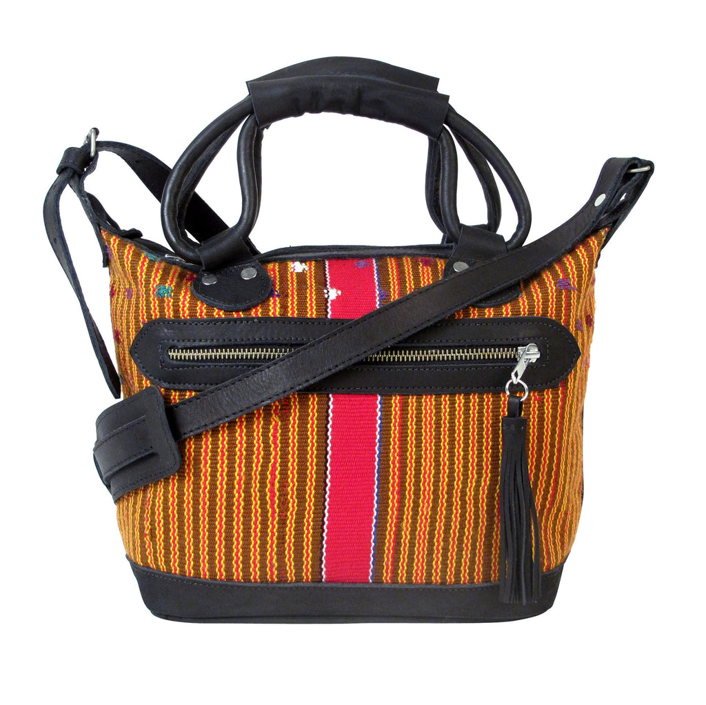 Chimaltenango Mini Maletta Vintage Stripes