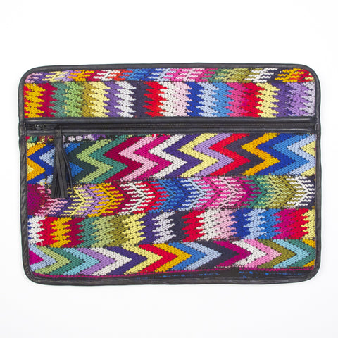 Patzicia Laptop Case Spectrum Zig Zags