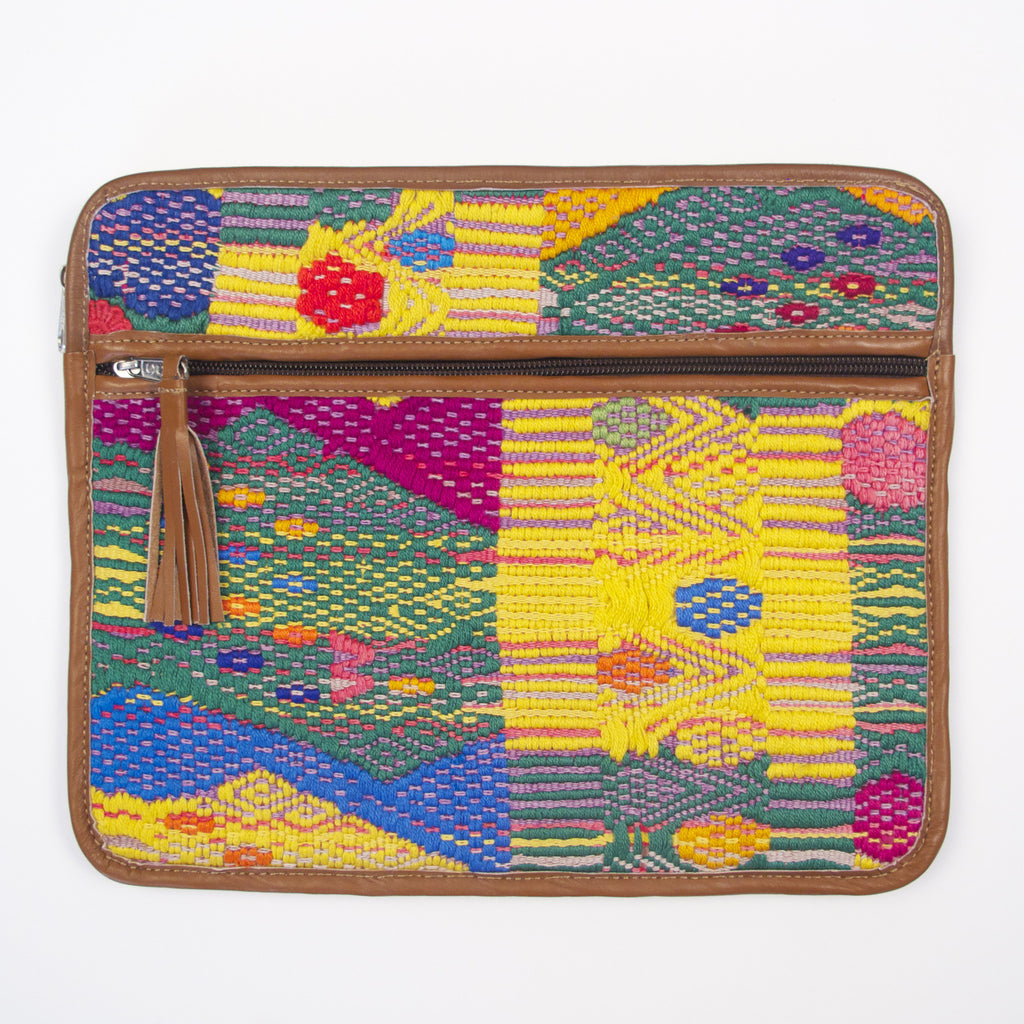 San Pedro Ayampuc iPad Case Yellow Brocade
