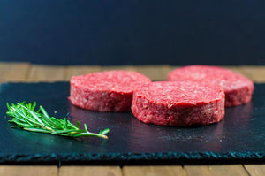 Gourmet Burger Patties - (4) 1/3# Patties