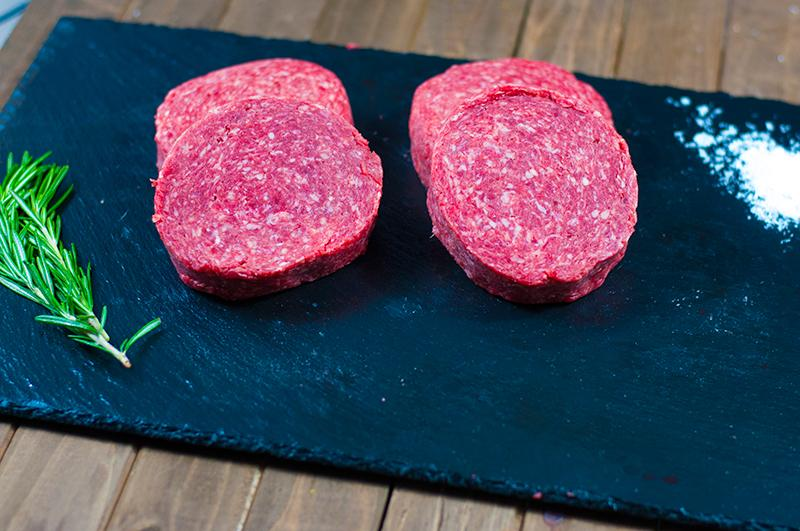Grilling Burger Patties - (4) 1/4# Patties