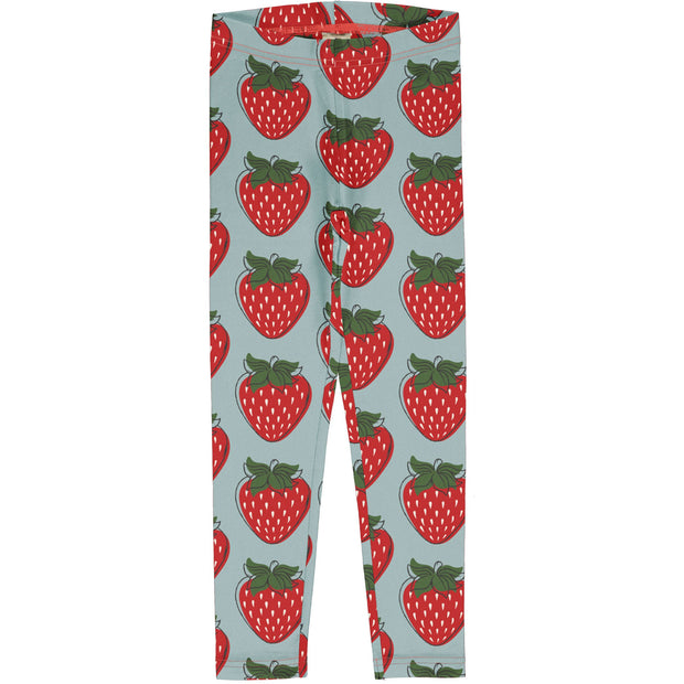 maxomorra explore leggings strawberry