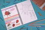 button squirt amazing british bugs activity book